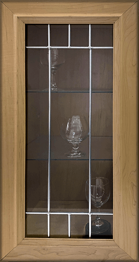 Square Border Glass